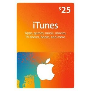 iTunes 25$ Gift Card