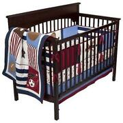 Baseball Crib Bedding