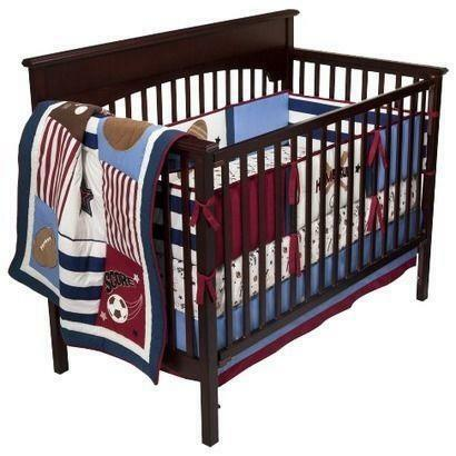 Baseball Crib Bedding Ebay