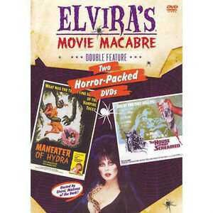 Classic Cheesy Horror Dvds with Elvira and many more-$10 each
