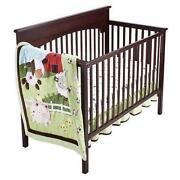Cow Crib Bedding