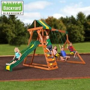 NEW* BACKYARD MADISON SWING SET 1805019 201863531