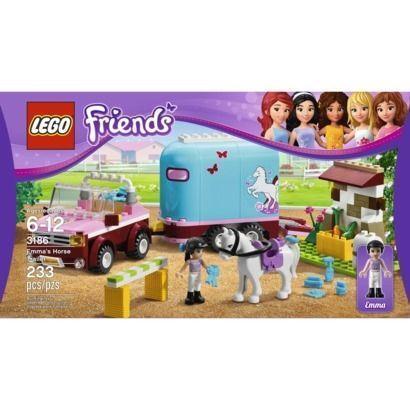 Lego Friends Emma S Horse Trailer Ebay