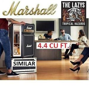 NEW* MARSHALL THE LAZYS BAR FRIDGE MF-110-XMC 221023420 4.4 CU. FT. BLACK HOME MINI TROPICAL HAZARDS APPLIANCE