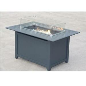 NEW PARAMOUNT GALE FIRE TABLE FP-341G-GY 202239063 CONVERTIBLE