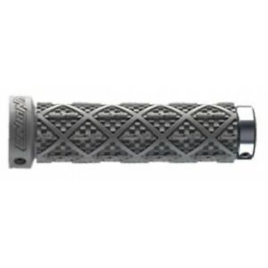 Brand New Sunline Twisted Waffle Lock on Bike Grips - Grey