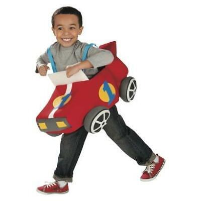 NEW RACE CAR RIDER RACING Driver Ride Dress Up Pretend Toddler Boy COSTUME osfm