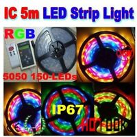 5 M Magic color 5050 waterproof 150 Led + remote 133 fonctions