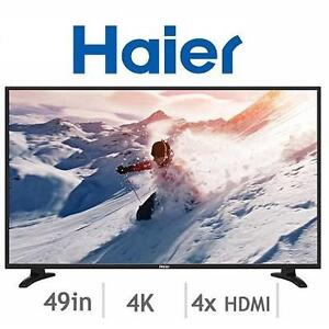 USED  HAIER 49'' LED TV - 116793911 - 4K ULTRA HD TV - 49 INCH TELEVISION