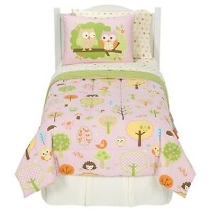 Twin Owl Bedding Set and Decor