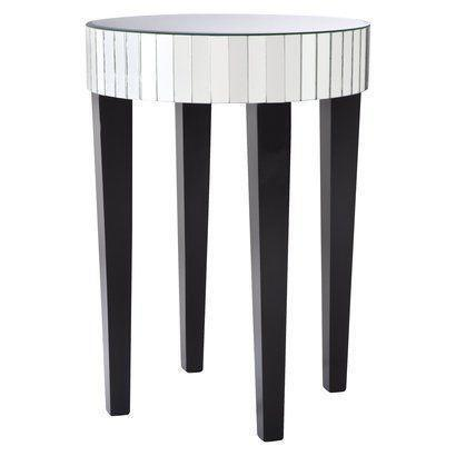 Mirrored End Table | Ebay