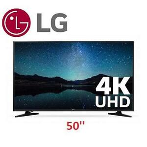 NEW LG 50'' 4K SMART LED TV - 107143936 - 50 INCH ULTRA HD TELEVISION