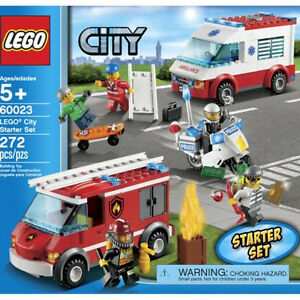 LEGO City Starter Set # 60023 - RETIRED and NEW IN BOX