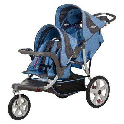 Instep Safari Double Jogging Stroller Ebay