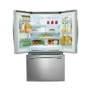 """Almost new Samsung 36"""" Stainless Steel Fridge Must Sell!"""