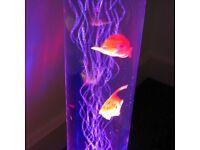 Minisun colour Changing Sensory Mood Lighting LED Novelty Bubble Fish Lamp