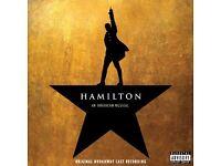 Hamilton Musical Ticket Victoria Palace Theatre - 1 Dec 19:30