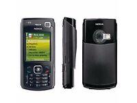 UMTS Phone Nokia N70- Smartphone-Black -Sim Free(UNLOCKED) and 3 Mobile Phone