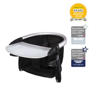 phil & teds portable lobster high chair - black