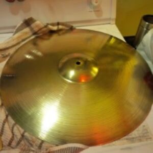 Sabian cymbal Solar crash-ride 18 inch… Great sound!