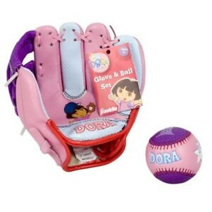 Dora ball glove and ball