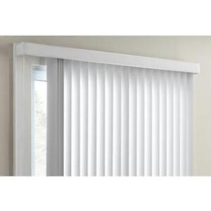 White PVC Valance for Vertical Blinds - BRAND NEW