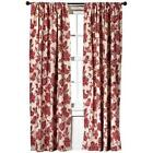 Target Red Curtains
