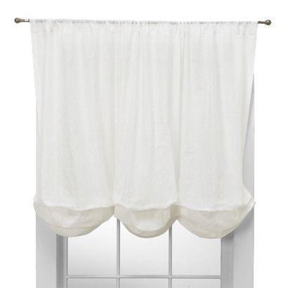 White Balloon Shade Curtains Drapes Amp Valances EBay