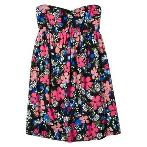 Women's Xhilration black floral dress Small New with tags London Ontario image 1