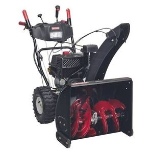 "Craftsman 24"" snowblower"