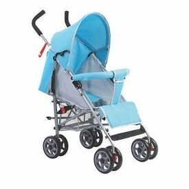 stroller with canopy.