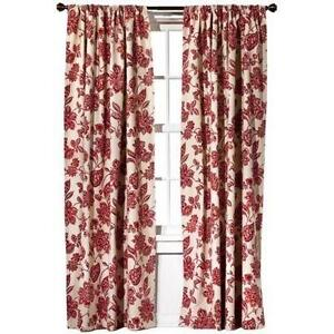 Marvelous Target Red Curtains