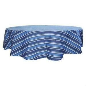 Exceptionnel Blue Stripe Tablecloth