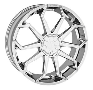 "VENTE LIQUIDATION!!!!! JANTES  /  MAGS 22"" CHROME"