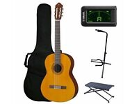 Yamaha C40 Classical Guitar + Accessories + 3 YEAR WARRANTY
