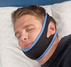 Anti Snoring Head Strap Snore Stopper Adjustable Chin Support