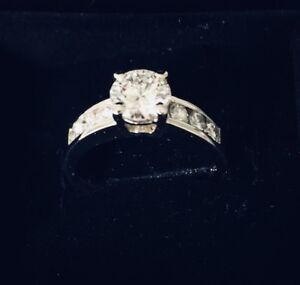 Certified custom designed engagement and wedding rings