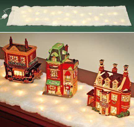 Kovot LED Snow Holiday Décor (Snow Table Runner)