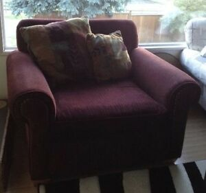Beautiful oversized Stylus Couch & Chair
