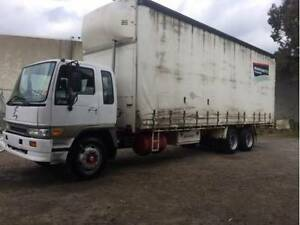 HINO FG 14 PALLET CURTAINSIER - *Rent-to-Own $517pw Campbellfield Hume Area Preview