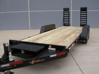 FLAT DECK TRAILER RENTAL CALGARY