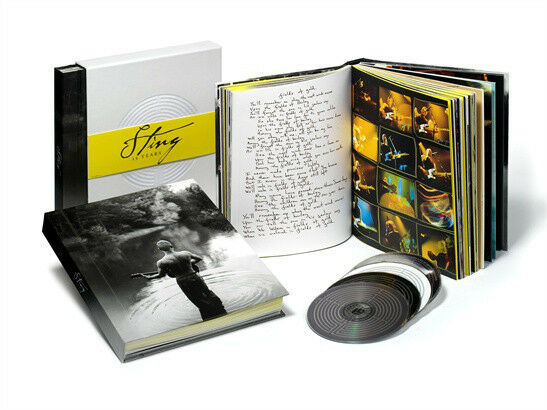 Sting 25 Years 3 x Cd and 1 x DVD Compiliation