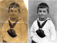 Professional Photo Restoration - 5 years industry experience