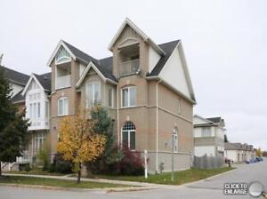 Markham End Unit TownHome with Double Garage! August 1st Move In
