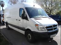 Man and van moving deliveries services.416 605 3848 - T