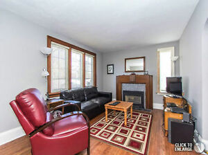 Single Detached Carpet Free Home, Beautiful Yard, UptownWaterloo