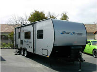 Short Term Storage for Holiday Trailer near Vernon in July