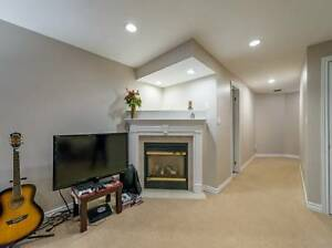 A spacious and bright large basement apartment in Ancaster