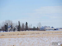 8 Acres! City Limits almost at fence line! Must be seen 2 houses