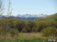 15 Acres with Mountain View - 30 Minutes from Calgary!